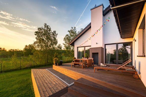 deck backyard by Bunbury Landscaping